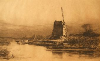 Wilfred Williams Ball; Thrigby Mill 1900's